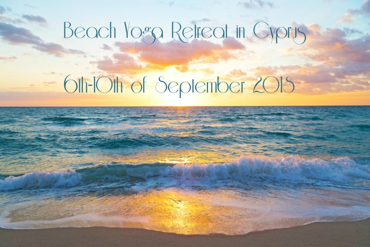 beach yoga and meditation retreat in cyprus