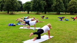 yoga in the park london