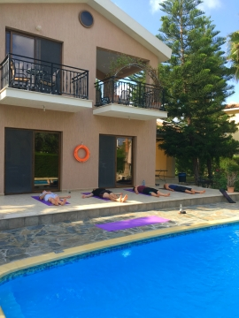 cyprus yoga retreat nora draganova