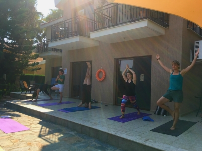 cyprus beach yoga retreat