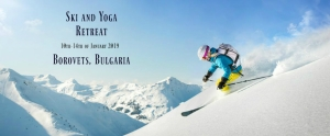 ski yoga retreat Bulgaria