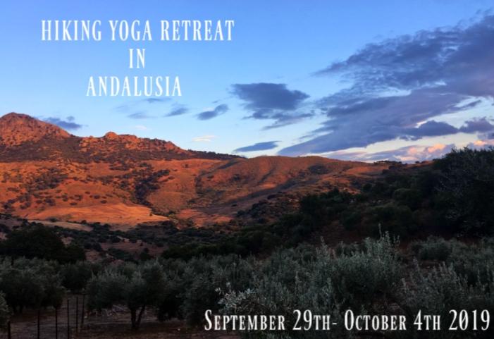 Hiking yoga retreat in Spain 2019