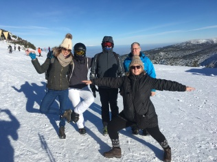 ski yoga retreat 2019